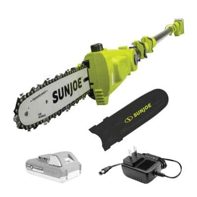 10 in. 24-Volt iON+ Cordless Telescoping Pole Chainsaw Kit with 2.0 Ah Battery and Charger