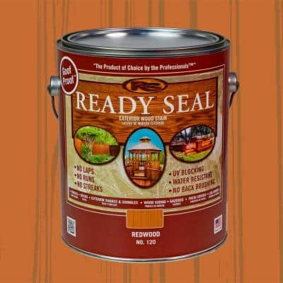 1 gal. Redwood Exterior Wood Stain and Sealer