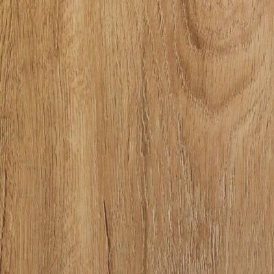 7.25 in. W x 48 in. L Tawny Leaves Loose Lay Luxury Vinyl Plank Flooring (36 sq. ft./case)