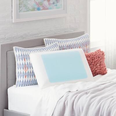Cooling Gel Memory Foam Queen Pillow