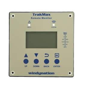 40 Amp 12-Volt or 24-Volt TrakMax MPPT Solar Charge Controller Remote Meter for Controller