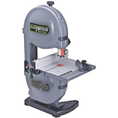 2.2 Amp 9 in. Band Saw with Dust Port, Tilt Table, Miter Gauge and Rip Fence