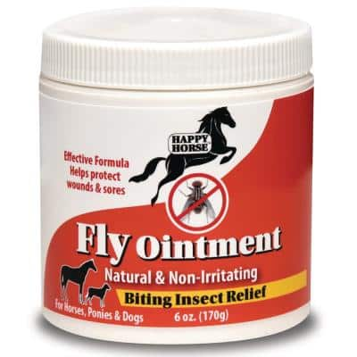 Happy Horse 6 oz. Fly Ointment Relief Gel