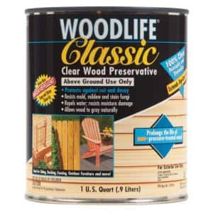 1-qt. Classic Clear Above Ground Wood Preservative (6-Pack)
