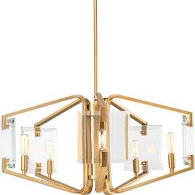 Cahill Collection 5-Light Brushed Bronze Chandelier