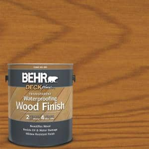 Behr Deckplus 1 Gal Natural Clear Transparent Waterproofing Exterior Wood Finish 40001 The Home Depot
