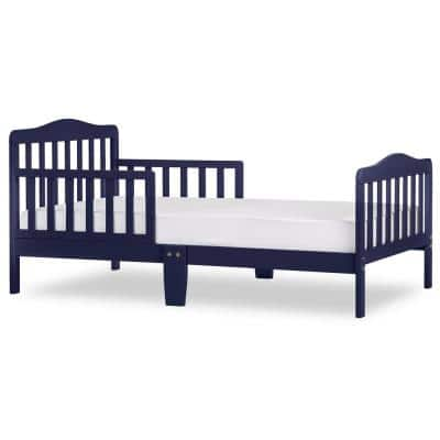Classic Design Navy Toddler Bed