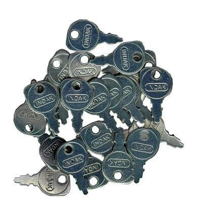 New 430-670 Ignition Key Shop Pack for Universal all lawnmowers with Indak switches 532122147 583657601 48 340 01-S