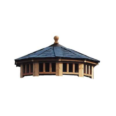 San Marino 10 ft. 2-Tier Gazebo Roof