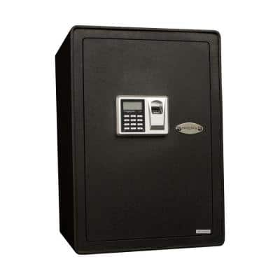 S Series 1.91 cu. ft. All Steel Security Safe with Biometric Lock, Textured Black