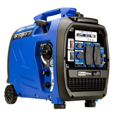 2,300-Watt/1,800-Watt Recoil Start Dual Fuel Portable Digital Inverter Generator 50-State