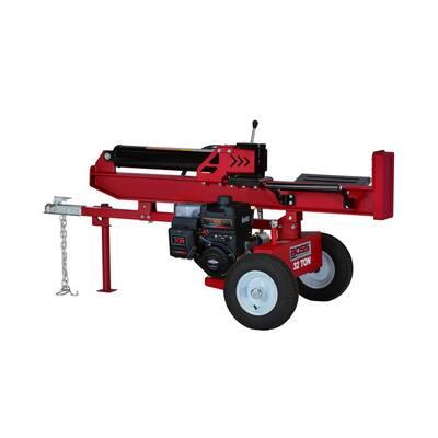 32-Ton 250cc Horizontal/Vertical Gas Log Splitter