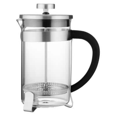 Essentials 3 Cups Stainless Steel Coffee/Tea Plunger
