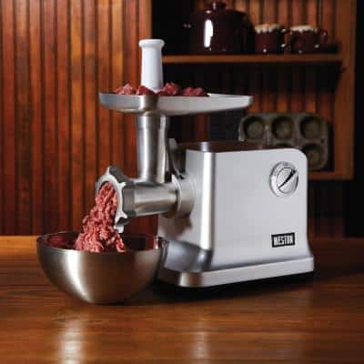 #12 1 HP Electric Meat Grinder and Sausage Stuffer