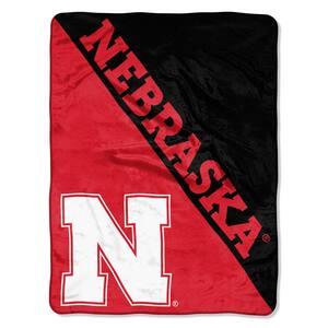 Nebraska Multi Color Polyester Halftone Micro Blanket