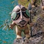 20 in. H Ibo Odo the Garden Pygmy Statue