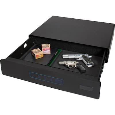 0.6807 cu. ft. 26 in. W x 5 in. H x 20 in. D Medium Under Bed Safe with Digital Lock