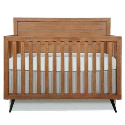 Stilnovo Mid Century Sugar Cane 4-in-1 Convertible Crib