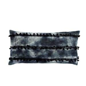 Seigel Ombre Indigo/ White 14 in. x 40 in. Polyester Lumbar