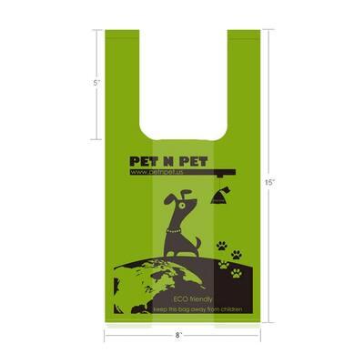 Premium Pet Poop Bags 800 Counts Unscented Tie Handle Dog Waste Poop Bags Green 4 Value Packs