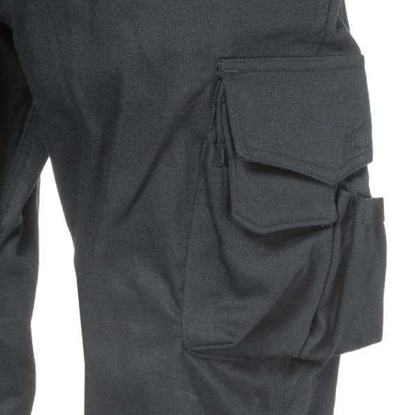 Caterpillar Flame Resistant Men S 30 In W X 34 In L Black Cotton Nylon Fr Cargo Work Pant 1810006 95g 30 34 The Home Depot