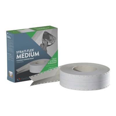 2-1/4 in. x 100 ft. Medium Flexible Corner Bead (Case of 12)