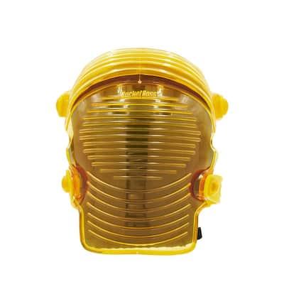 GelDome Flex Washable Accordion Soft Cap Knee Pad (1-pair)