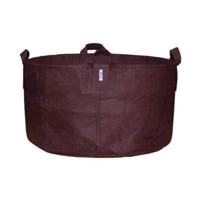65 Gal. Breathable Boxer Brown Fabric Planting Containers and Pots with Handles Planter (1-Pack)