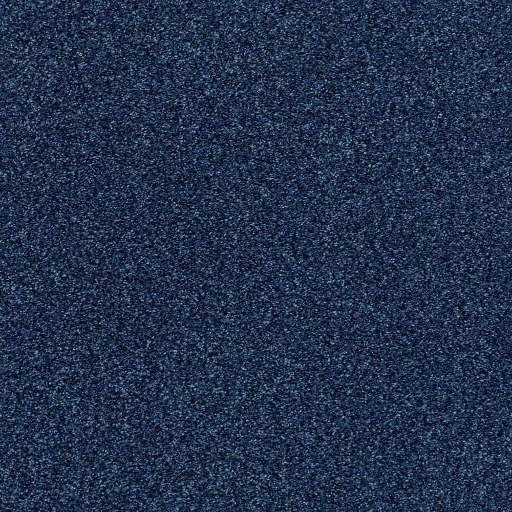 Lifeproof Karma II - Color Denim Texture 12 ft. Carpet