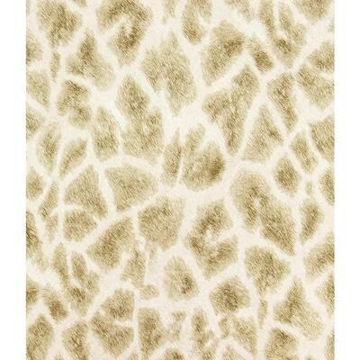 Montone Champagne Giraffe Champagne Wallpaper Sample