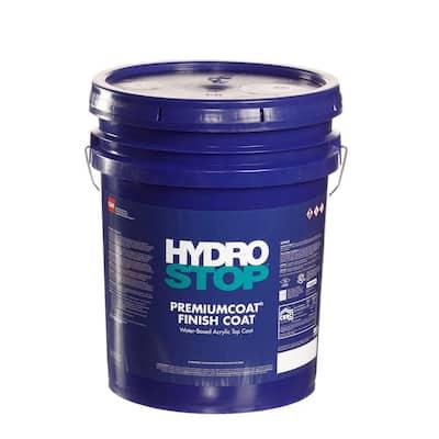 HydroStop PremiumCoat 5 Gal. Light Gray Finish Coat Acrylic Elastomeric Roof Coating (15-Year Limited Warranty)