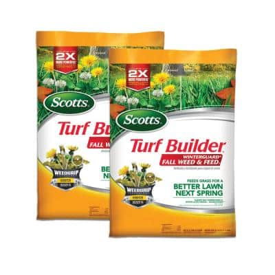 Turf Builder Winterguard Fall Weed and Feed 3 - 32 lbs. 5,000 sq. ft. Non-Organic Dry Fertilizer (2-Pack)