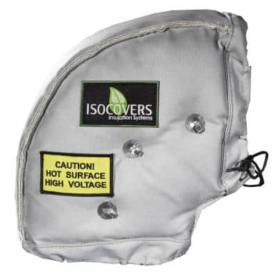 Isocovers Iso-Elbow 12L x 90 Degree: 24 in. L x 18 in. W x 18 in. H Insulation for bends and fittings - R5