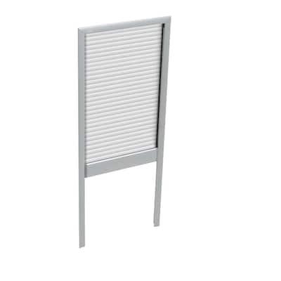 White Manual Room Darkening Skylight Blinds for GXU FK06 Models