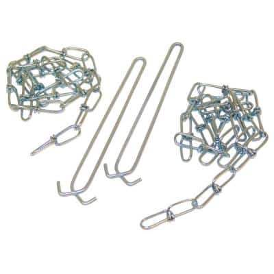 36 in. Strip and Wrap Light Chain Hanger