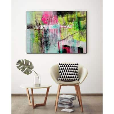 """""""Colorscape 05417"""" by Carole Malcolm Framed Abstract Wall Art Print 36 in. x 24 in."""