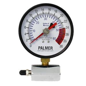 40KB 4 in. Dial Gas Test Gauge