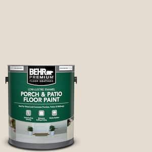 1 gal. #N340-1 Light Granite Low-Lustre Enamel Interior/Exterior Porch and Patio Floor Paint