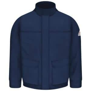 Red Kap Men S 2x Large Tall Navy Heavyweight Parka Jp70nv Ln Xxl The Home Depot