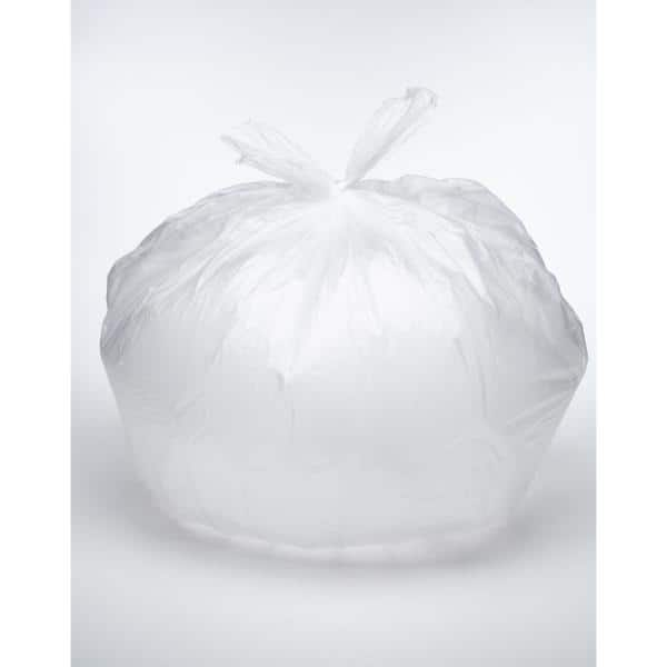 *NEW!* Trash Bag Clear 15 gal Med Duty 24x33 11 mic 500 Count FREE SHIPPING