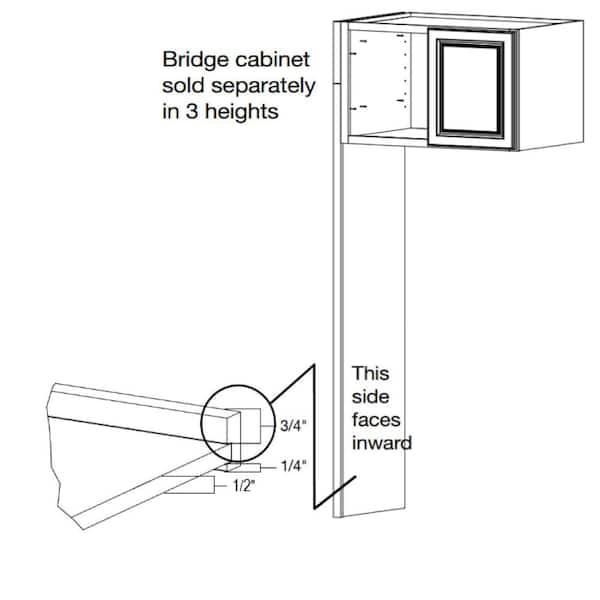 In Refrigerator End Panel Kit Karep Sw, Cabinet Side Panels