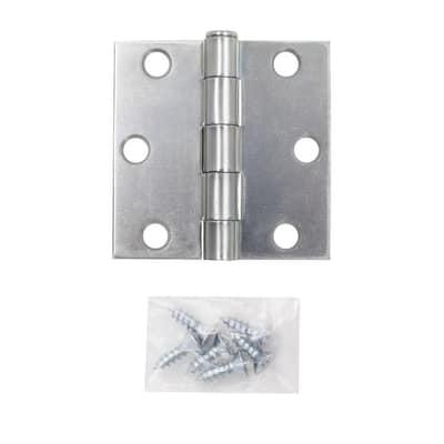 2-1/2 in. Zinc Plated Broad Loose Pin Hinge