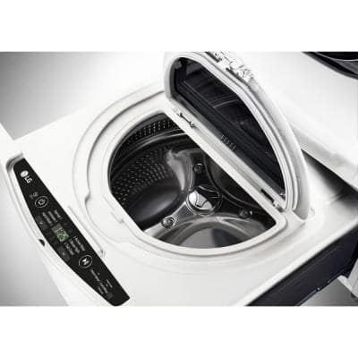 27 in. 1.0 cu. ft. SideKick Pedestal Washer with TWINWash System Compatibility in White