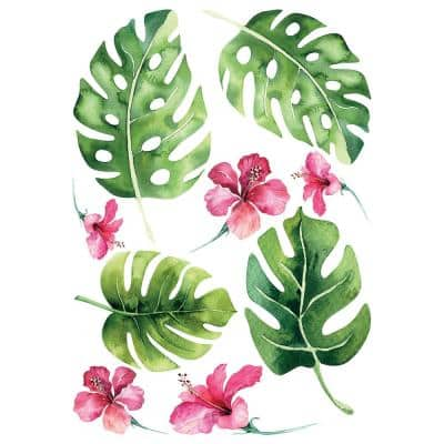 Tropical Wall Green Decal