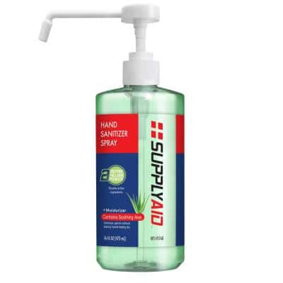16 oz. Dual Action Hand Sanitizer Spray with Soothing Aloe
