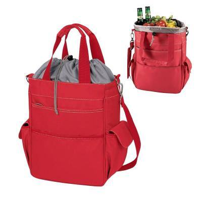 20-Can Activo Red Picnic Cooler