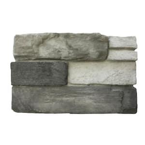 Colorado Gray 6 in. x 8 in. Mortarless Stone Veneer Sample