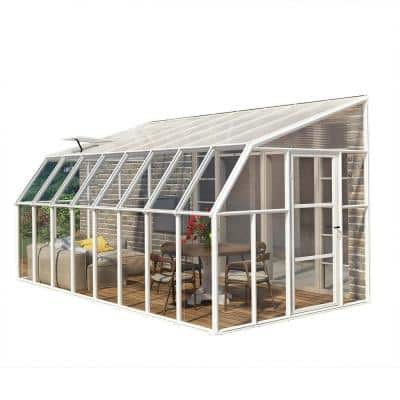 Sun Room 8 ft. x 16 ft. Clear Greenhouse