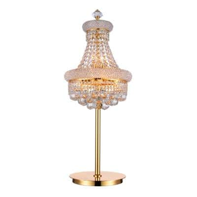 Empire 34 in. Gold Table Lamp