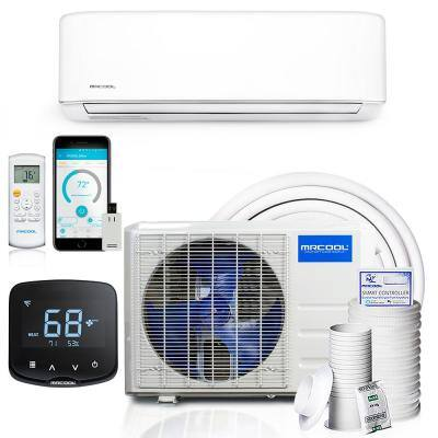 Advantage 3rd Gen 12,000 BTU 1 Ton Ductless Mini Split Air Conditioner and Heat Pump with Mini Stat 115V/60Hz